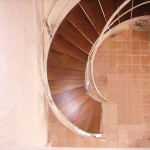 Pura Vida Miami for Contemporary Staircase with Curved Stairs