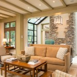 Pyramid Builders for Mediterranean Family Room with Stonework