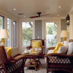 Pyramid Builders for Traditional Porch with Yellow Pillows