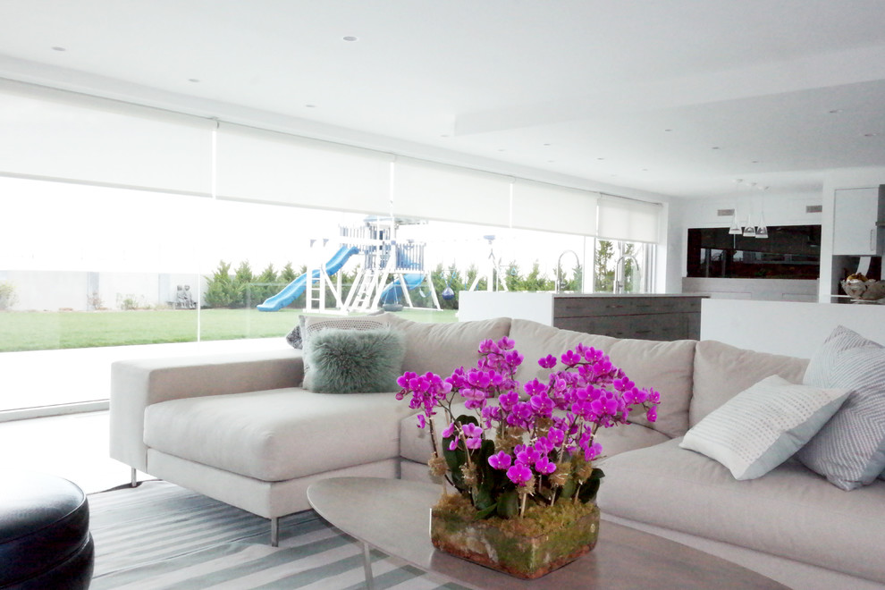 Qmotion for Contemporary Family Room with Qmotion