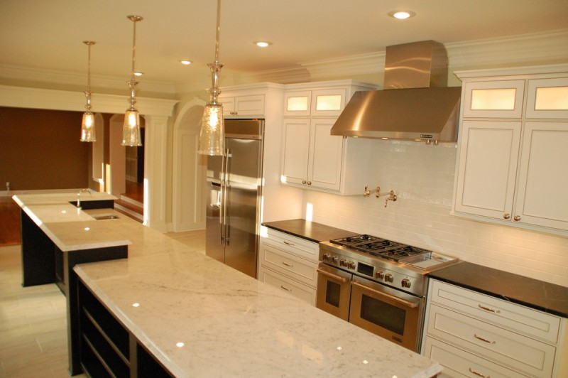Quail Hollow Country Club for Traditional Kitchen with Commercial Appliances