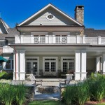 Quaker Ridge Golf Club for Traditional Exterior with French Doors