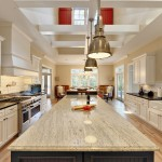 Quartz Countertops vs Granite for Beach Style Kitchen with Stainless Steel Appliances