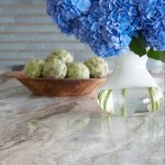 Quartzite vs Granite for Beach Style Spaces with Marble with Blue