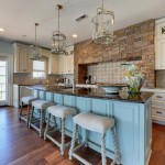 Quietude for Traditional Kitchen with Distressed Paint