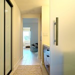 Raydoor for Contemporary Bathroom with White Wood