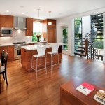 Raydoor for Contemporary Kitchen with Dining Table
