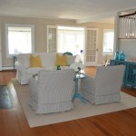 Raymour and Flannigan for Beach Style Living Room with Waterfront Homes