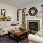 Raymour and Flannigan for Traditional Family Room with Beige Sofa
