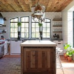 Reclaimed Wood San Diego for Contemporary Kitchen with Tongue and Groove Ceiling