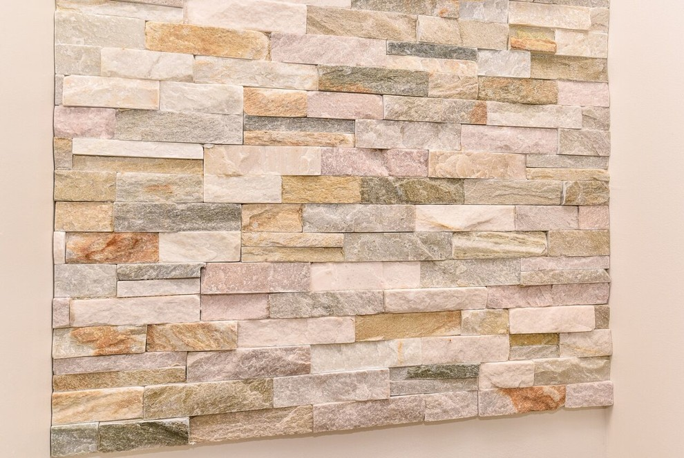 Reef Builders for Beach Style Hall with Stacked Stone