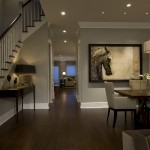 Revere Pewter Benjamin Moore for Traditional Dining Room with Neutral Colors