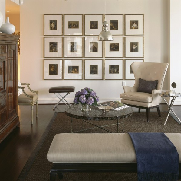 Ritz Carlton Baltimore for Contemporary Family Room with Dark Floor