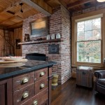 Riverhead Building Supply for Rustic Kitchen with Farm Sink