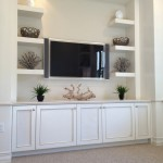 Riverstone Naples for Contemporary Living Room with Custom Garage Cabinets