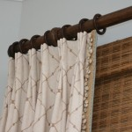 Robert Allen Fabrics for Beach Style Family Room with Drapes