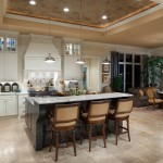 Romanelli and Hughes for Mediterranean Kitchen with Stainless Pendant Lights