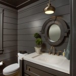 Romanelli and Hughes for Transitional Bathroom with White Counter