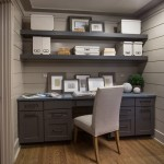 Romanelli and Hughes for Transitional Home Office with Box Storage