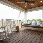 Romanelli and Hughes for Transitional Porch with Porch Swing
