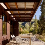 Roof Overhang for Modern Patio with Eaves