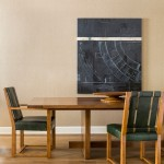 Rose Tarlow for Transitional Dining Room with Dining Space