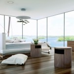 Rove Concepts for Contemporary Bedroom with Modern Bed