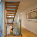Rrm Design Group for Contemporary Staircase with Neutral Colors