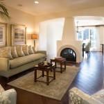 Rrm Design Group for Mediterranean Living Room with Fireplace