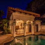 Rrm Design Group for Mediterranean Pool with Terracotta Tile Roof
