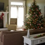 Rudd Furniture for Craftsman Family Room with Christmas