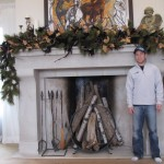 Rumford Fireplace for Traditional Living Room with Traditional