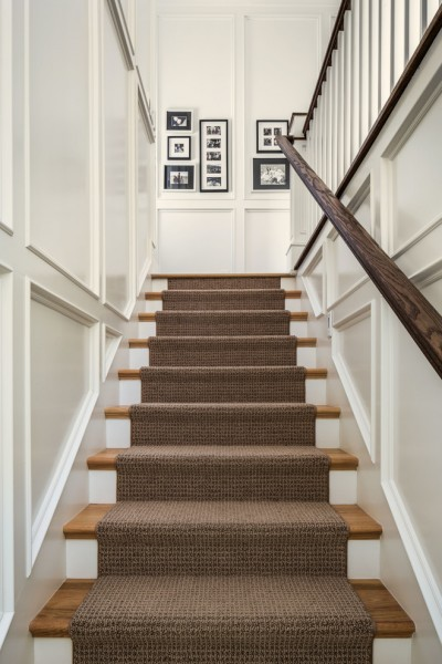 Runnings Bismarck Nd for Traditional Staircase with Rug