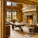 Rustic Living Room Ideas for Rustic Living Room with Sunvalley