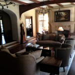 Rustic Living Room Ideas for Traditional Living Room with American Made