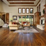 Rustic Living Room Ideas for Traditional Living Room with Entrance