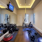 Ryland Homes Az for Traditional Home Gym with Tray Ceiling