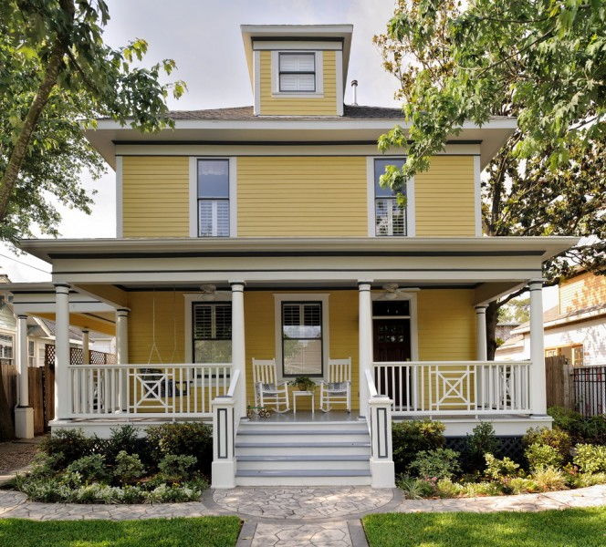 Ryland Homes Houston for Traditional Exterior with Wood Columns