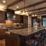 Sacramento River Train for Rustic Kitchen with Lake Tahoe