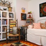 Safe Haven Fort Worth for Eclectic Home Office with Bold