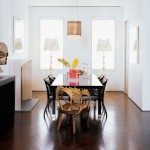 Salvador Dali Elephant for Contemporary Dining Room with Accent Wall