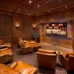 San Marcos Theater for Mediterranean Home Theater with Sconce