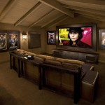 San Marcos Theater for Rustic Home Theater with Big Screen