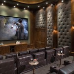 San Marcos Theater for Traditional Home Theater with Built in Storage