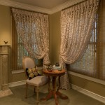 Sarried for Eclectic Bedroom with Sheer Draperies