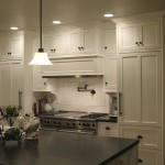 Satco Lighting for Contemporary Kitchen with Wolf Stovetop