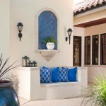 Satco Lighting for Mediterranean Patio with Roof Tile