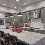 Satco Lighting for Transitional Kitchen with Recessed Lighting