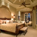 Sater Design for Traditional Bedroom with Sitting Alcove