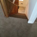 Saxony Carpet for Farmhouse Staircase with Stair Carpet